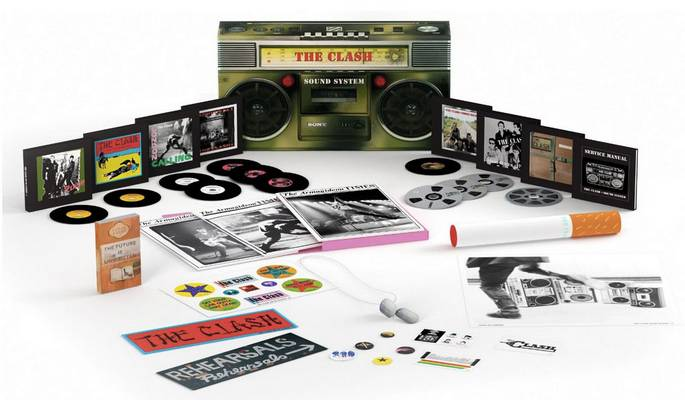 The Clash - Sound System (2013) {Remastered, Box Set, 11CD + DVD}