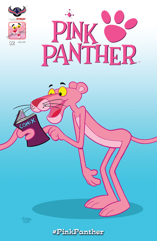 The Pink Panther #1-4 + Specials (2016-2018)